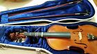 Awesome 1994 Andrew Schroetter Model 320-15 1/2 Full Violin w/ 2 Bows