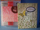 CUTTLEBUG EMBOSSING FOLDERS MODERN VINES A2  BORDER Anna Griffin Christmas