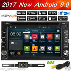 Android 4.4 CAR PC GPS Navigation 2 din DVD Stereo Player 3G Wifi Radio+CAMERA
