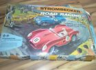 STROMBECKER ROAD RACING SLOT CAR TRACK SET  W/ BOX MADE IN USA