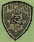 CALIFORNIA HIGHWAY PATROL POLICE SUBDUED  SHOULDER PATCH