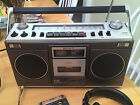 Vintage SONY CF-520 Boombox Portable Stereo Cassette Radio 1978 70s RARE