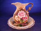 Enesco china bowl and pitcher vintage Japan pitcher 5 1/4