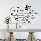 Everyone Brings Joy Family Home Wall Sticker Art Decor Decal Removable Mural DIY