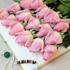 20 Head Real Latex Touch Rose Flowers Flower Wedding Home Design Bouquet Decors