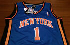 Amare Stoudemire New York Knicks AUTHENTIC Adidas NBA Jersey Size 52 Blue NWT