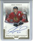 2011-12 Panini JEREMY ROENICK Crown Royale PRIVATE SIGNINGS Autograph #JR1
