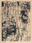 Birch Background Wood Mounted Rubber Stamp IMPRESSION OBSESSION Wood Tree New