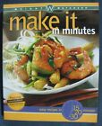 Weight Watchers Make It In Minutes Cookbook Easy Recipes in 15 20