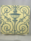 c1890s MAW & Co. English Pottery Tile  - Classical Transfer Tile