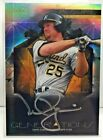 Mark McGwire 2015 Topps Finest Generations Refractor SILVER INK Auto #d 25 - A's