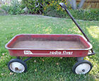 VINTAGE RADIO FLYER 90 RED WAGON STEEL