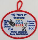 Whit Oak River District 2010 Winter Camporee 100 Years of Scouting [H1510]