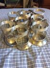 Benedict Plate Silver Antique Tea Cup Holders 2.5