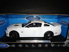 Welly Saleen S281 E Mustang 2007 Police White with push bar crown light 1 18
