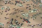 Game Birds Fleece Fabric Ducks Pheasant Turkey 2 Yards Quilting Crafts