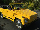 Volkswagen  Thing Convertible 1973 volkeswagen thing w 40 k original miles