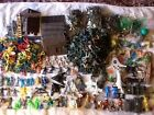 9 Pounds of toy soldiers, cowboys, knights, etc Marx, Timpo, Lonestar