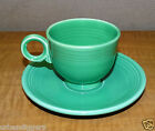 1271/ Vintage FIESTA Light Green COFFEE CUP & SAUCER ~  HOMER LAUGHLIN