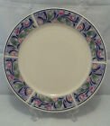 Sakura Bouquet Sue Zipkin Majesticware Dinner Plate Flowers Floral Leaves Purple