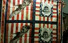 Life Liberty Indians and Eagles Fabric Panel