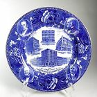 Jones McDuffee & Stratton Co. Plate Wedgwood Centennial Blue & White Transfer