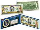 HARRY S TRUMAN * 33rd U.S. President * Colorized $2 Bill US Genuine Legal Tender