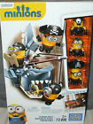 Mega Bloks MINIONS ~ SHARK BAIT ~ Complete Pirate 72pc Set (Lego) Despicable Me