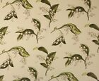 WAVERLY WILLIAMSBURG LILIES OF THE VALLEY CELADON GREEN FABRIC BY YARD 54