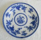Furnival and Sons flow blue dish - Bombay pattern - circa 1880