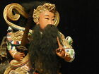 Xuan Wu With a Snake and a Tortoise Huge Temple Sized Rare Taoist Wood Statue