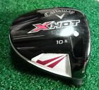 CALLAWAY X HOT 10.5* MENS RIGHT HANDED DRIVER HEAD ONLY!!! GOOD!!!!