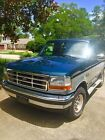 Ford  Bronco XLT Sport Utility 2 Door 94 xlt classic 4 wd two tone blue silver new auto trans 58 v 8 cold air
