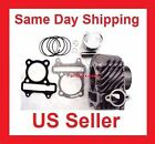 Cylinder Kit Jug for 150cc GY6 Engine Gasket piston rings parts fit 3 tall Head