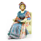 Marion HN1583 (with patterned shawl) – Royal Doulton Figurine