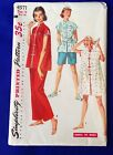 VTG 1950s Style Pajamas Sewing Pattern Coat Uncut Size 16 Simplicity 4971