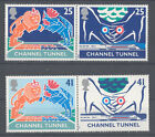 1994 Channel Tunnel MNH SG1820/23 GB QEII Commemorative