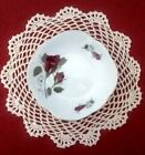 2  Cmielow Fine China  Red Roses Butter or Trinket Dish