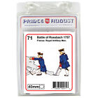 French soldiers 40mm scale casting Prince August rubber moulds molds PA71