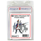 Prussian soldiers 40mm scale casting Prince August rubber moulds molds PA68