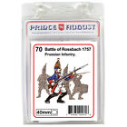 Prussian soldiers 40mm scale casting Prince August rubber moulds molds PA70