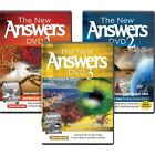 The New Answers DVDs 1 3 Pack by Ken Ham NEW ANSWERS IN GENESIS