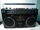 RARE Sanyo M4100K Boombox Made In Japan Works Cassette Player