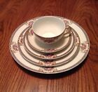 ANTIQUE Noritake GRASMERE~5 Piece Set~Cups~Dinner Plates~Personal Estate