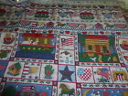 Cotton Fabric  Kessler Concord Americana Home Heart Angel Print 2 PC Quilt  Sew