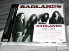 BADLANDS - SELF TITLED - S/T REMASTERED - ROCK CANDY RARE JAPAN EDITION CD