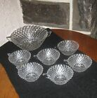 Diamond point dessert set SUPER! Bowl and 6 serving bowls
