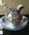 Antique F. Winkle Irving Colonial Pottery Basin Pitcher Chamber Set CIRCA 1900
