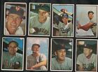 1953 BOWMAN BASEBALL LOT OF 16 DIFFERENT WITH SEVERAL MINOR STARS ETC