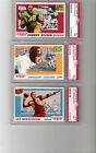 (62) 1955 Topps All-American Cards All PSA 7 & Different-Near set lot(1)PSA 9(MC